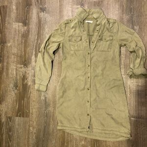 Kenneth Cole utility shirt dress